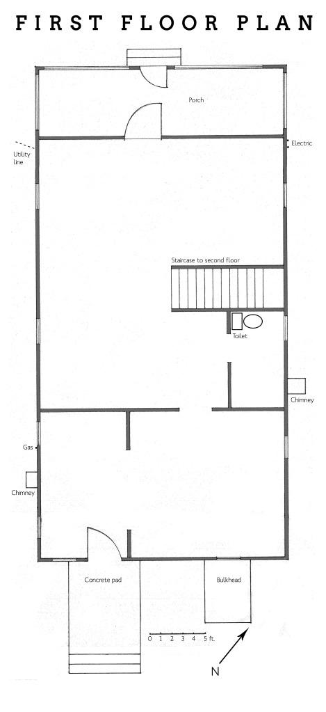 First floor plan v1
